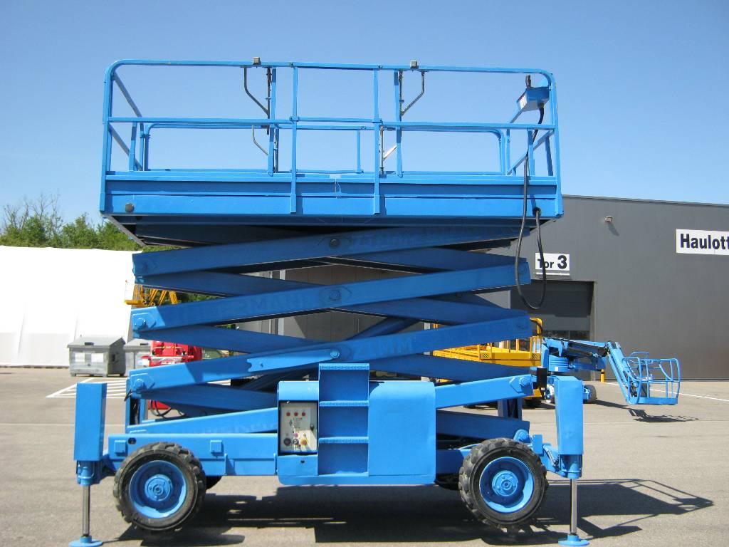 Haulotte H15SX, Scissor Lifts, Construction Equipment