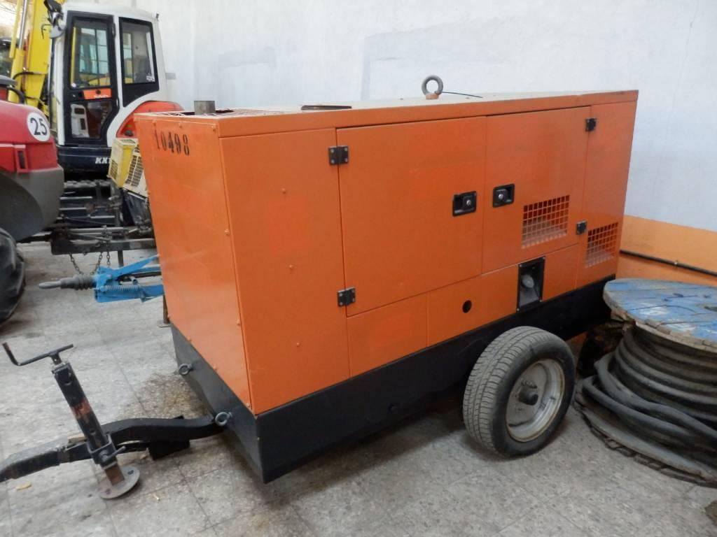 Gesan DZR40, Generadores diesel, Construcción