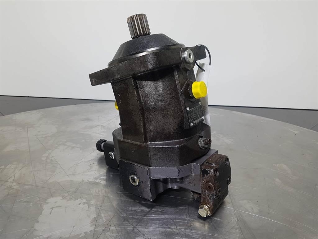 Rexroth A6VM107HA1U1/63W- Ahlmann AX85 - Drive motor