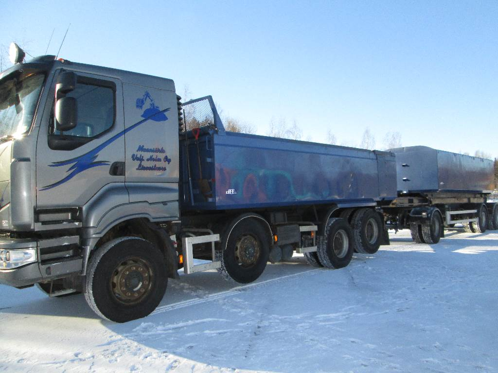 Sisu R 500E13M KA-KK, Tipper trucks, Transportation