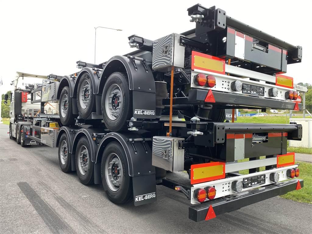 Kel-Berg C 300 V, Containerhenger, Transport
