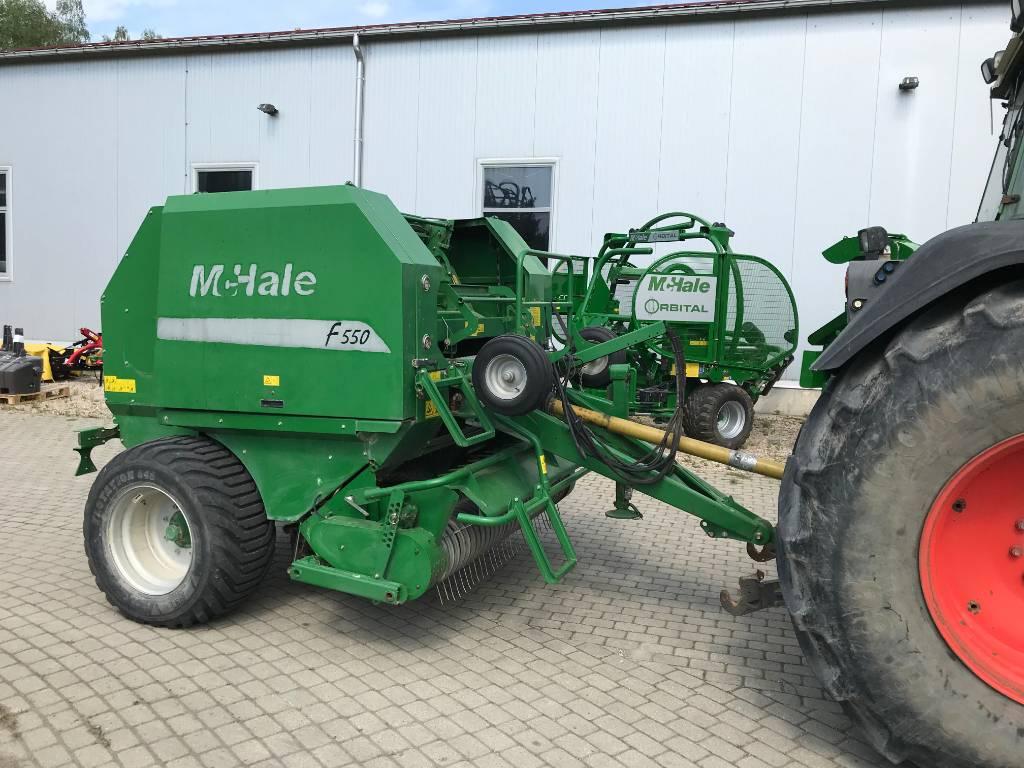 McHale F550, Rituļu preses, Lauksaimniecība