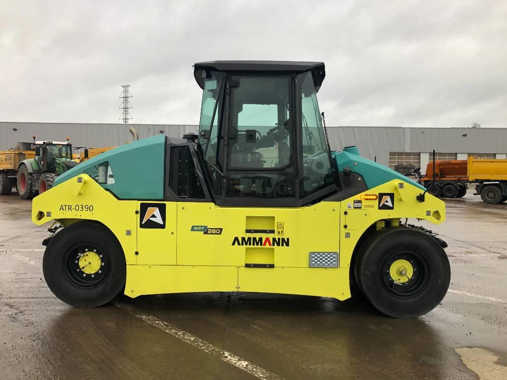 Ammann ART 280, Pneumatic tired rollers, Construction