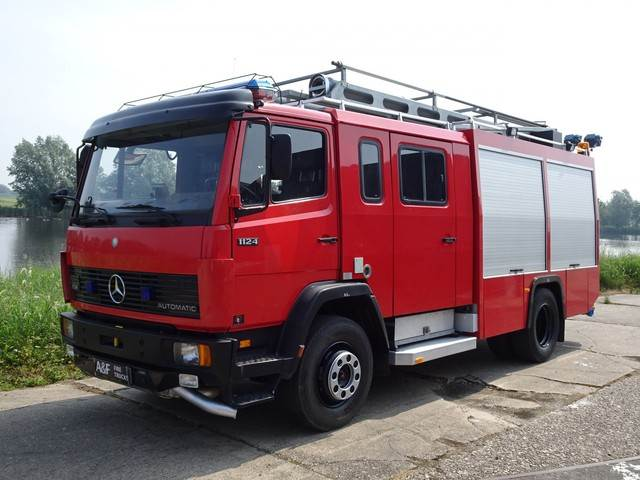 Mercedes-Benz 1124 F C&C Godiva, Fire trucks, Transportation