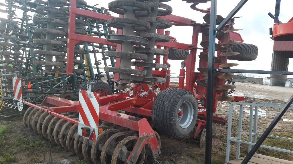 Horsch Joker 6 RT, Disc harrows, Agriculture