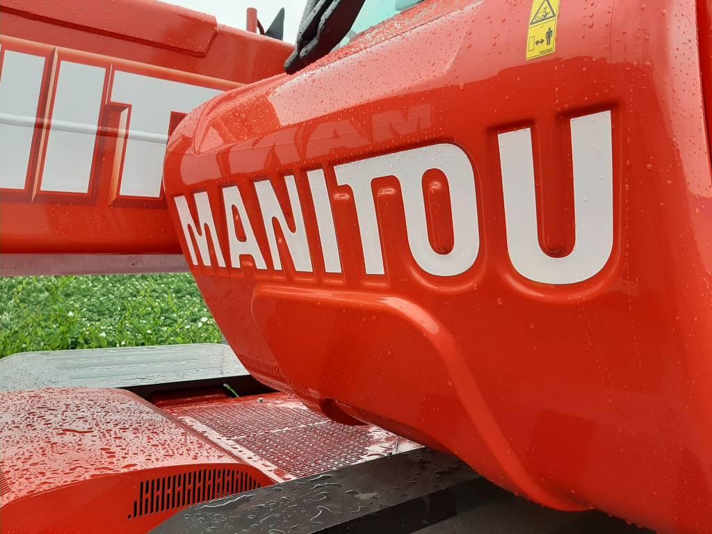 Manitou MRT 2550 Plus Privilege, Verreikers, Bouw
