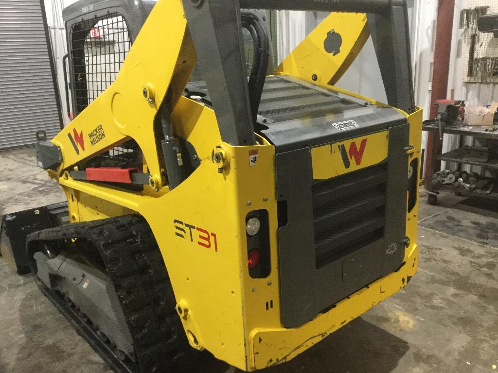Wacker Neuson ST 31, Crawler Loaders, Construction Equipment