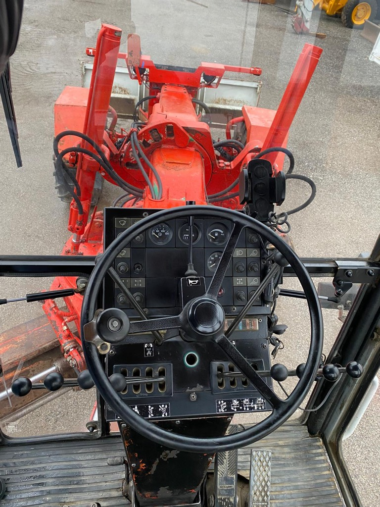 O&K F 106 A, Grader, Baumaschinen
