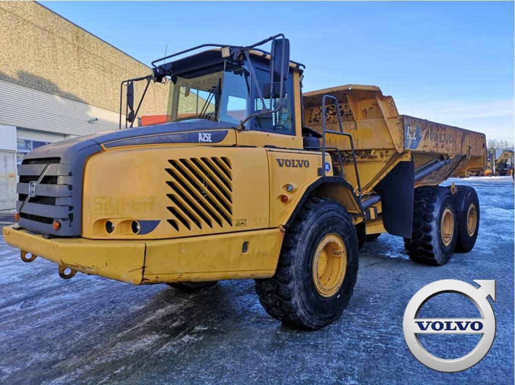 Volvo A25E, Articulated Dump Trucks (ADTs), Construction Equipment