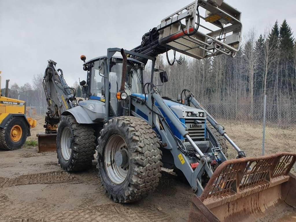 Lännen 8800 K, Grävlastare, Entreprenad