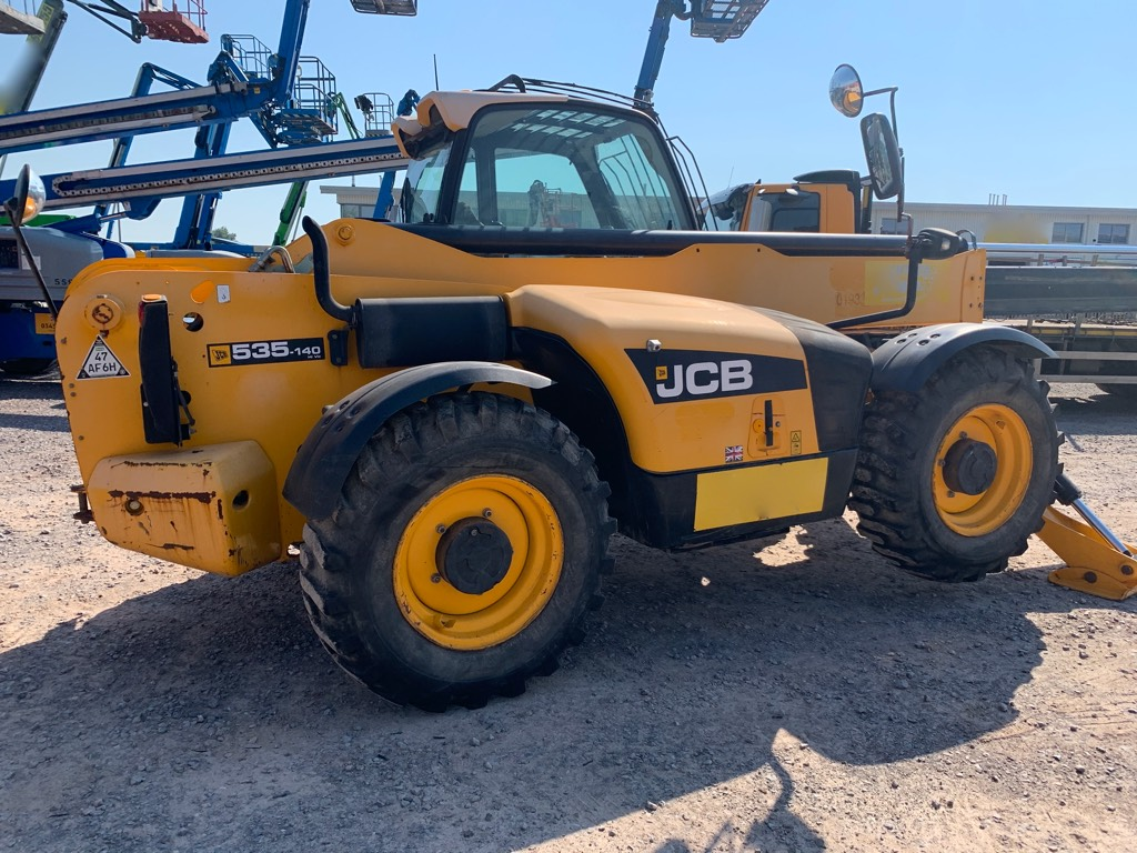 JCB 535-140, Telescopic handlers, Construction