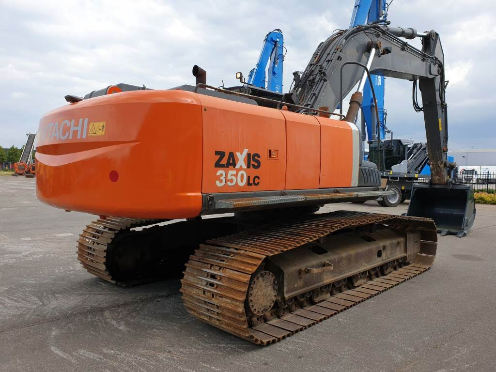 Hitachi ZX 350 LC-3, Crawler Excavators, Construction Equipment