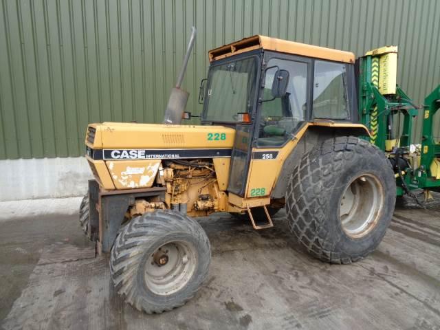 Case IH international 258 2wd tractor