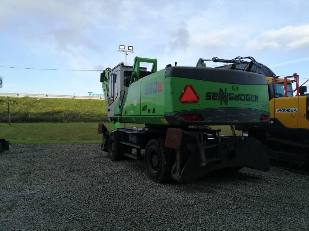 Sennebogen 830, Waste / Industry Handlers, Construction Equipment