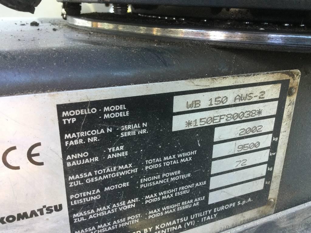 Komatsu WB150 AWS-2, Kaivurikuormaajat, Maarakennus
