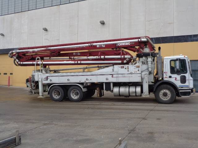 Schwing 2525H-6/39X, Boom Pumps, Construction Equipment