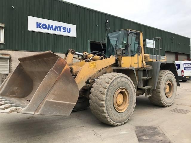 Komatsu WA420-3, Wheel Loaders, Construction Equipment