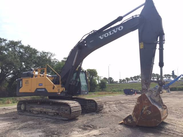 Volvo EC480EL, Crawler Excavators, Construction Equipment