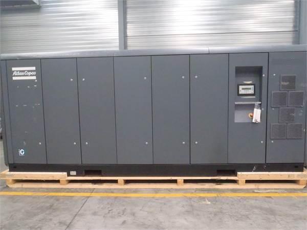 Atlas Copco ZT 250 VSD FF, Compresores, Construcción
