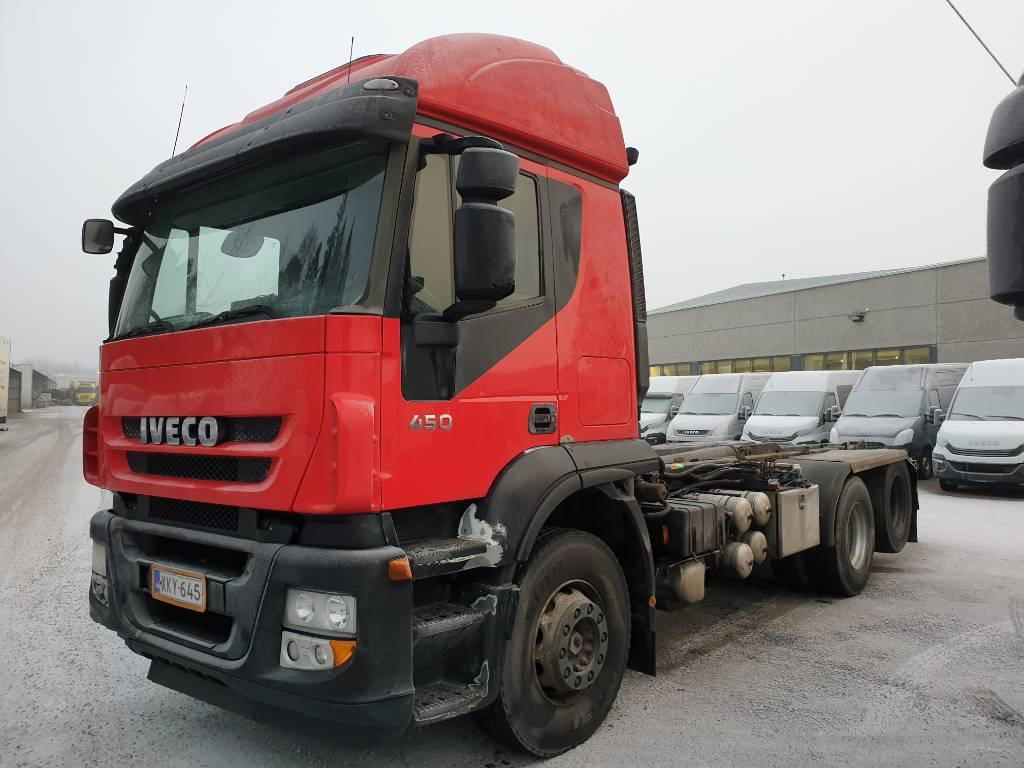 Iveco AT260S45 6x2, Koukkulava kuorma-autot, Kuljetuskalusto