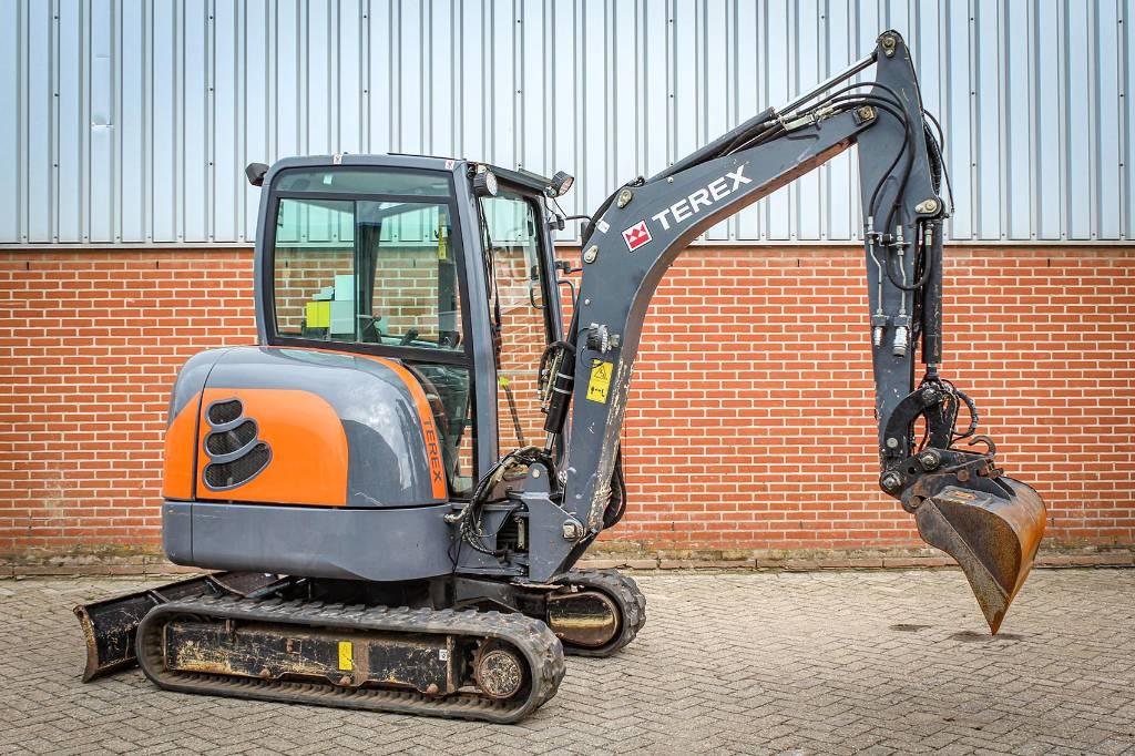 Terex TC 25, Mini excavators, Construction