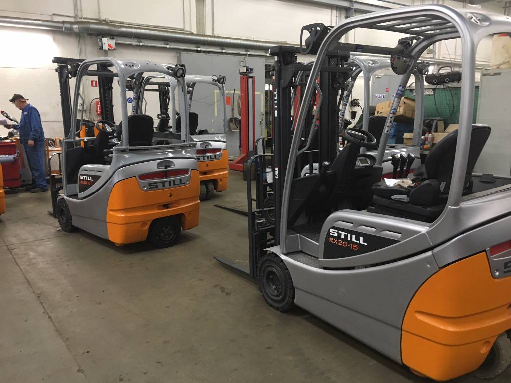 Still RX20-15, Electric forklift trucks, Material Handling