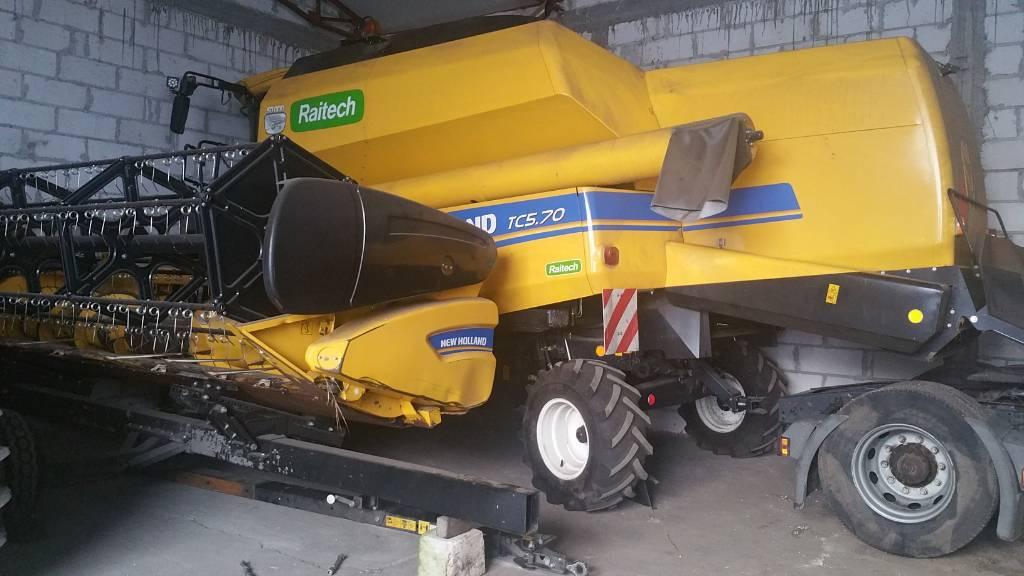 New Holland TC5.70, Kombajny zbożowe, Maszyny rolnicze