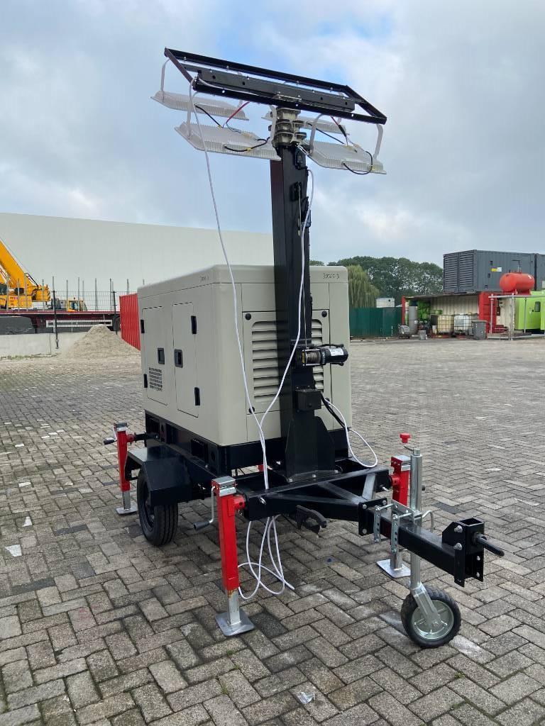 Ricardo Light Tower 15 kVA - DPX-30005, Mobiele lichtmasten, Bouw
