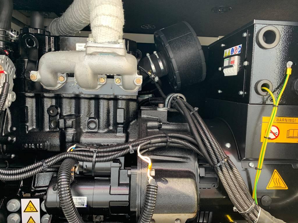 Mitsubishi S3L2-61SDBC - 12 kVA Compact - DPX-17603.1, Diesel generatoren, Bouw