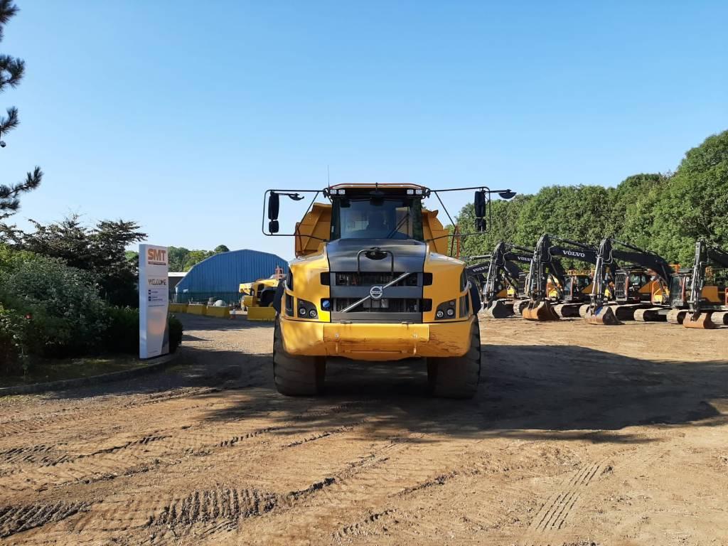 Volvo A40G, Articulated Dump Trucks (ADTs), Construction Equipment