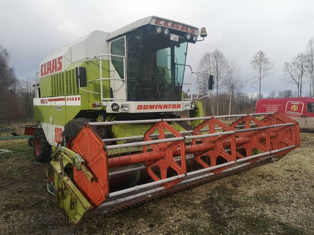 CLAAS Dominator 108 SL, Ražas novākšanas kombaini, Lauksaimniecība