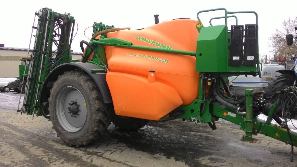 Amazone UX 4200 Special, Haagispritsid, Põllumajandus