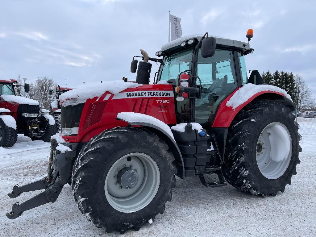 Massey Ferguson 7720 Dyna VT, FL, 1.800tim, Traktorer, Lantbruk