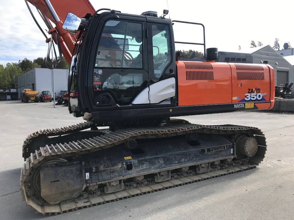 Hitachi ZX 350 LC-6, Crawler Excavators, Construction Equipment