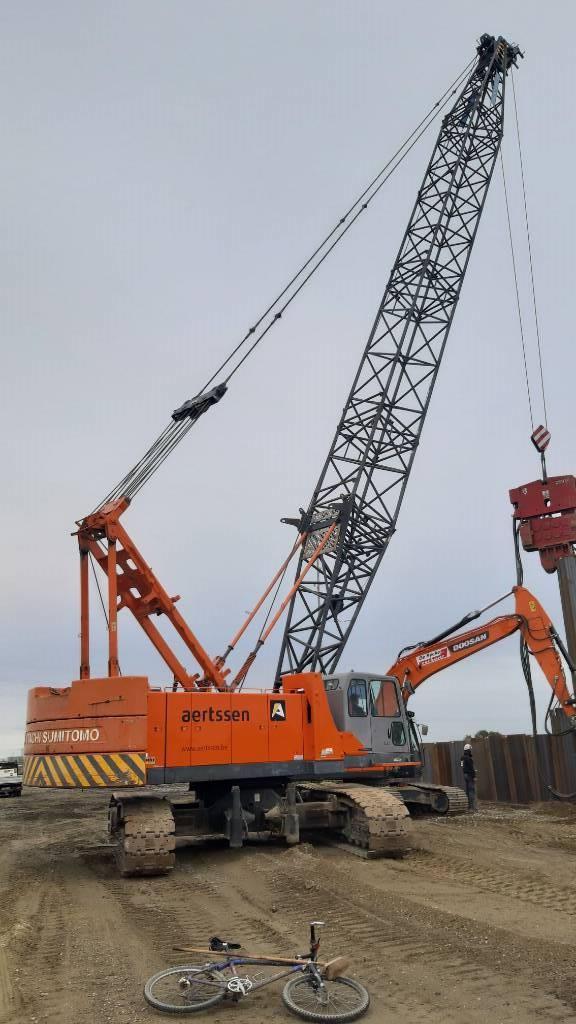 Hitachi Sumitomo SCX900-2 C3, Tracked cranes, Construction