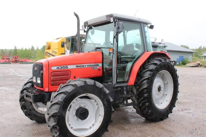 Massey Ferguson 4355, Traktorit, Maatalous