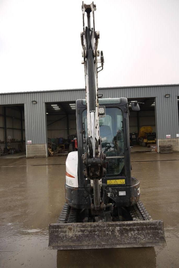 Bobcat E 26, Mini excavators < 7t (Mini diggers), Construction