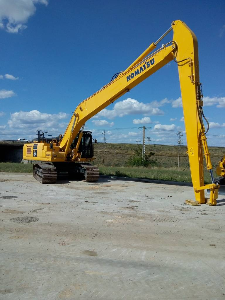 Komatsu PC360LC11- Long Reach, Crawler Excavators, Construction Equipment