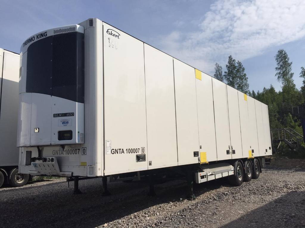 Ekeri FRC 2014 DZO 596 Thermo King, BPW, Temperature controlled semi-trailers, Transportation