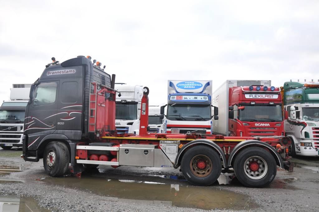 Volvo FH13 500, Lastväxlare/Krokbilar, Transportfordon
