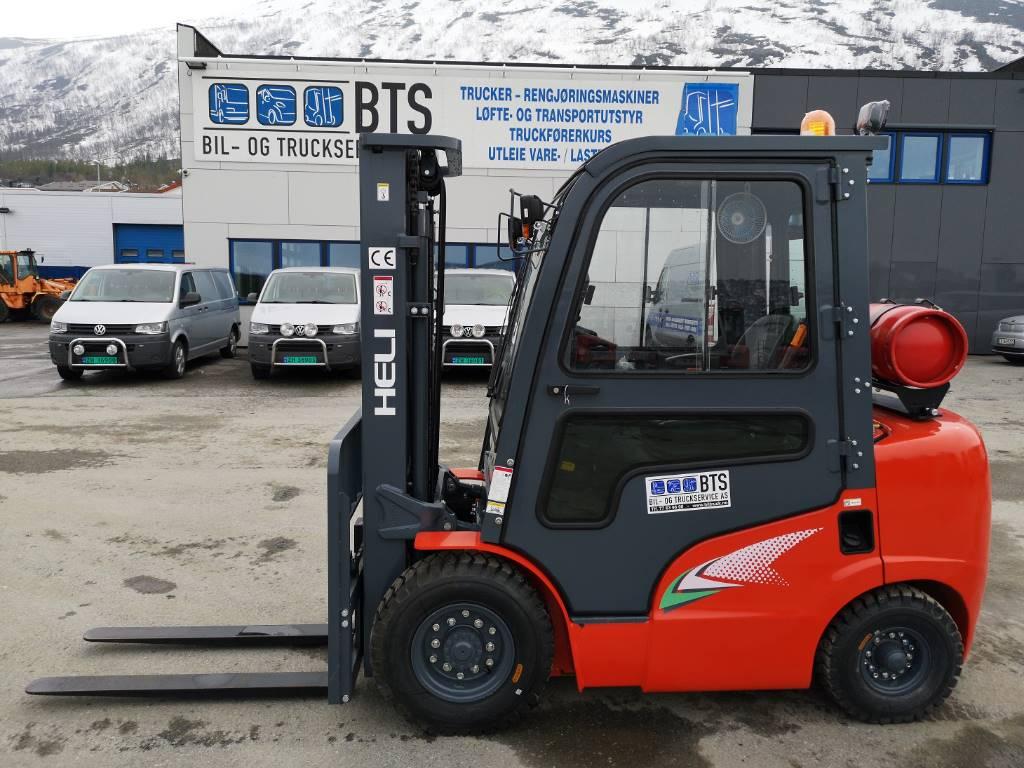 Heli CPYD25-RC1G2 - 2,5 tonns propantruck (PÅ LAGER), Propan trucker, Truck