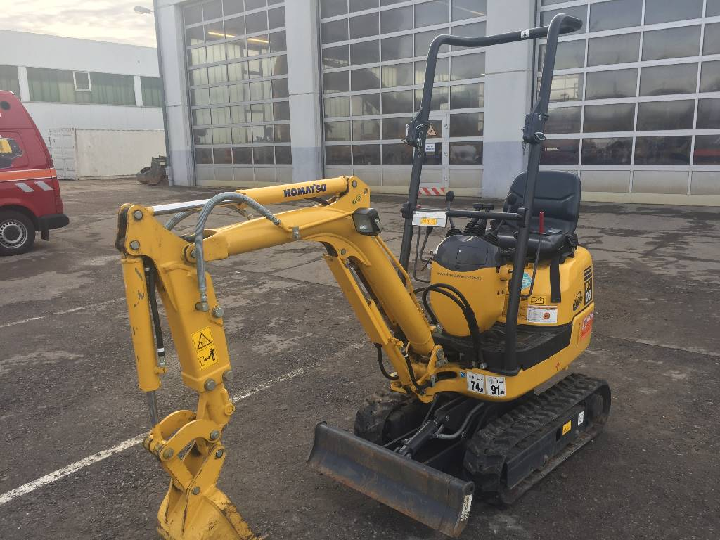 Komatsu PC09-1, Mini excavators, Construction Equipment