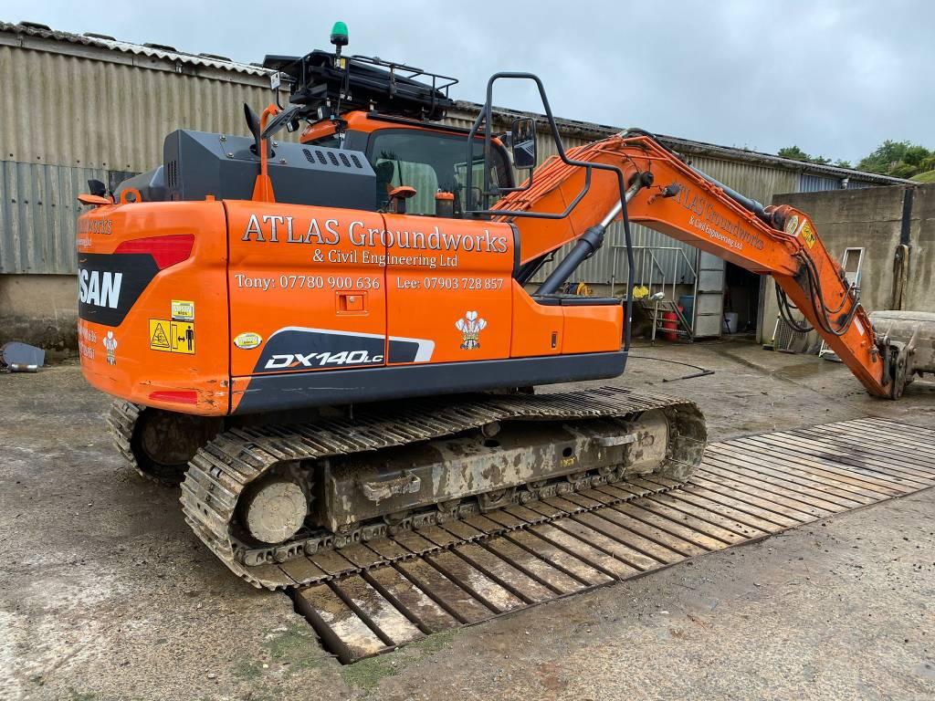 Doosan DX 140 LC, Crawler Excavators, Construction Equipment