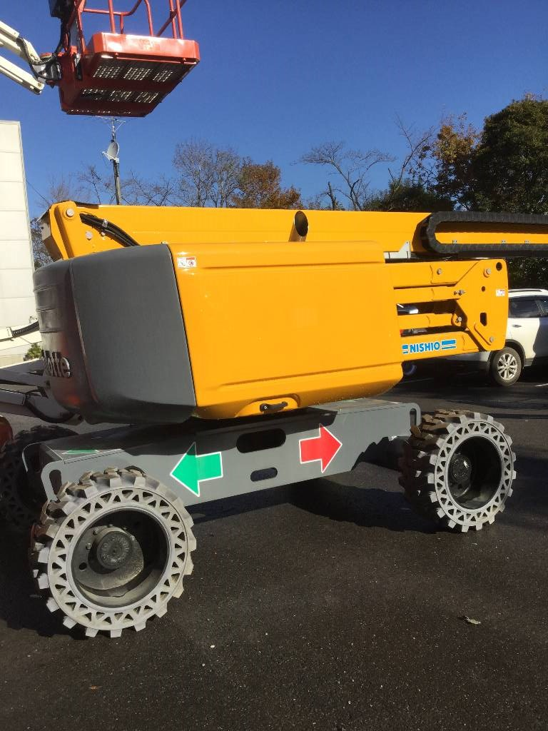 HAULOTTE HA20RTJ, Articulated boom lifts, Construction Equipment