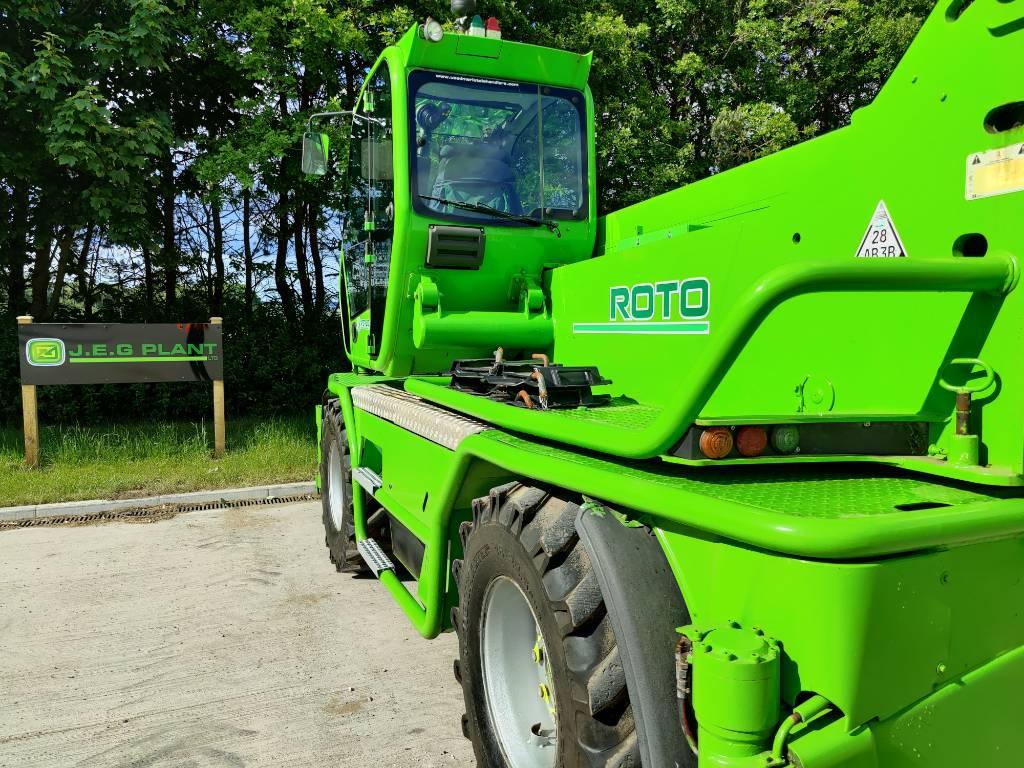 Merlo Roto 40.25 M CS S, Telescopic handlers, Construction