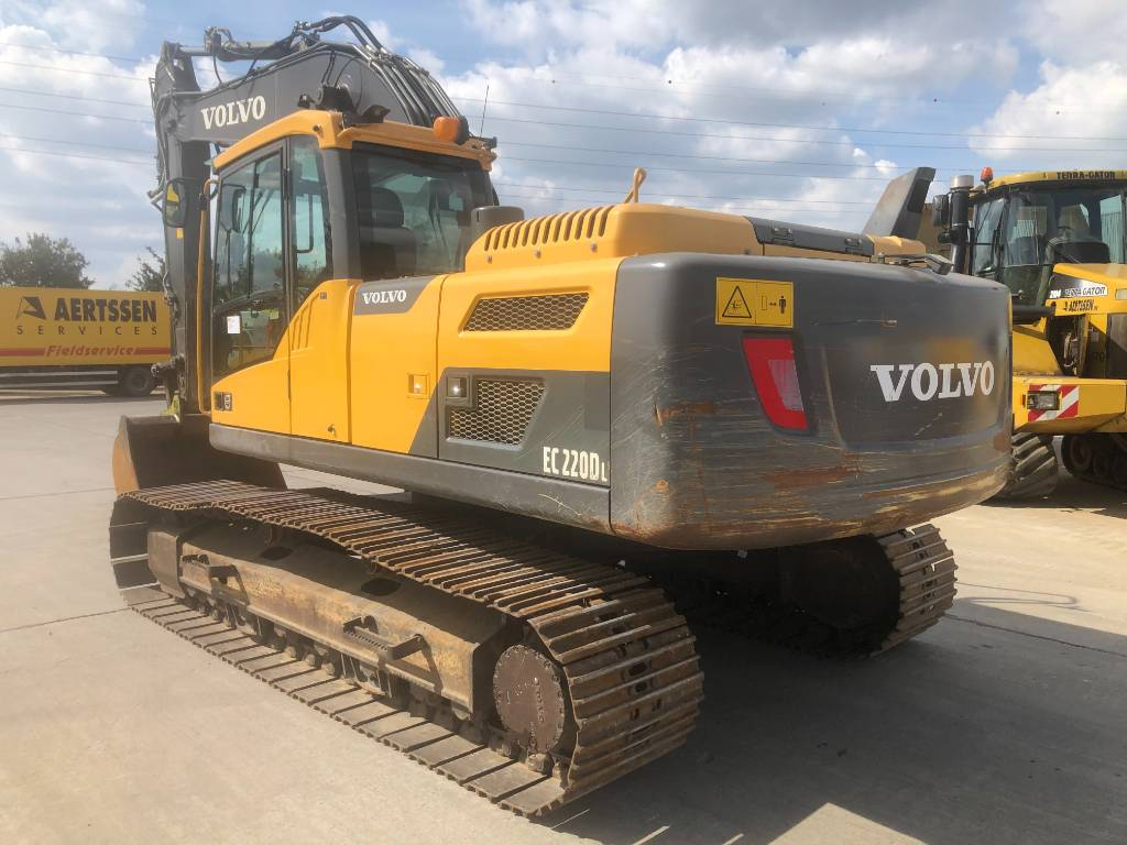 Volvo EC 220 DL (new running-gear), Crawler excavators, Construction