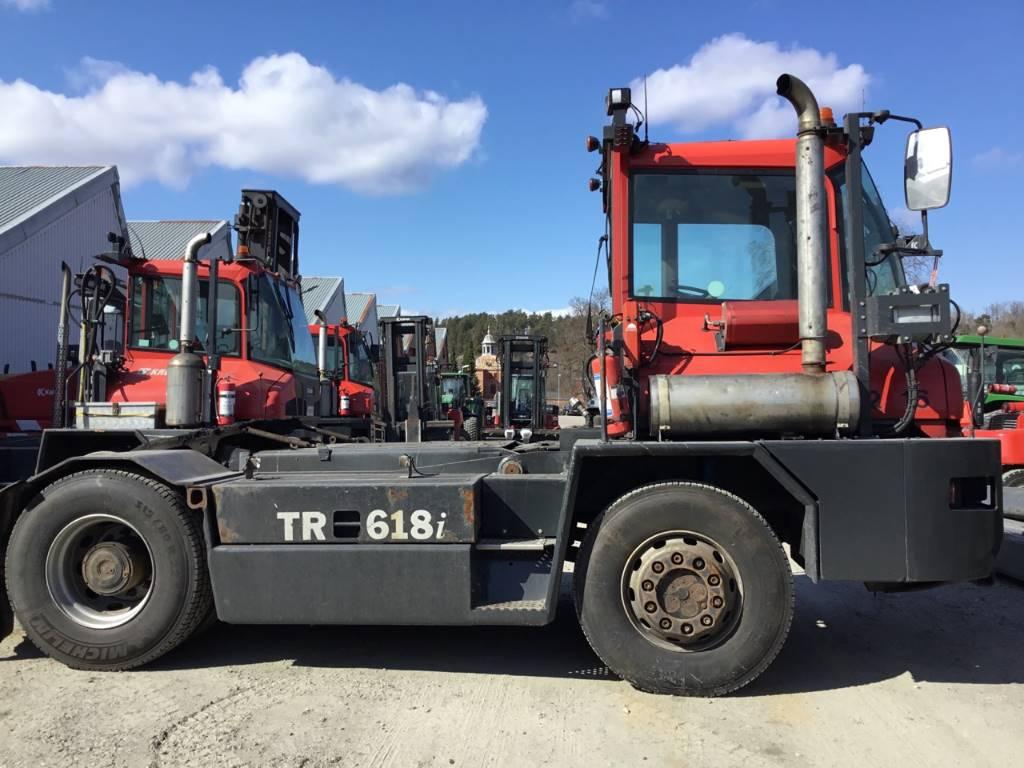 Kalmar TR 618 i B, Terminaltraktorer, Materialhantering
