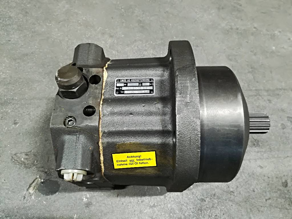 Lännen T-221 Telavaihteen Hydraulimoottori Linde HMV75/4, Ketjut, telat ja alustat, Maarakennus
