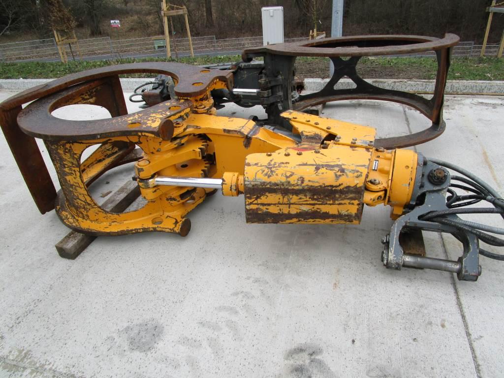 Liebherr Rundholzzange / Holzgreifer GM20B 800mm / ca.1,3m², Greifer, Baumaschinen