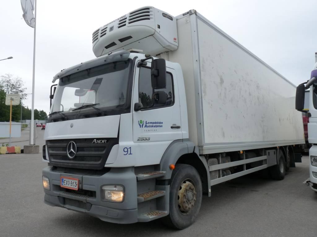 Mercedes-Benz Axor 2533 6x2, Kylmä-/Lämpökori kuorma-autot, Kuljetuskalusto